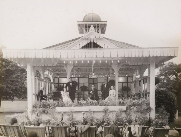 Alexandra Palace's bandstand